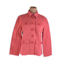 Francesco Biasia Coats Jackets Pink Woman Authentic Used E1213