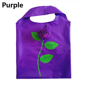 Reusable Foldable Grocery Bags Folding Shopping Tote Bag Eco-Friendly Polyester