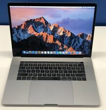 "2017 MacBook Pro 15"" 256GB 16GB RAM 2.8GHz i7 Touch Bar AppleCare Office 16"