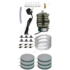 ACO318 HAILEA AIR PUMP 6x AIRSTONE KIT ACCESSORIES hydroponic fish pond aeration
