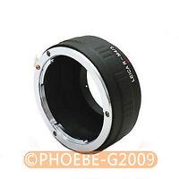LEICA R Lens to Micro 4/3 adapter E-P1 E-P2 G1 GF1 GH1