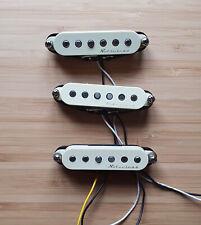 Set of three Fender Vintage Noiseless pickups for Strat