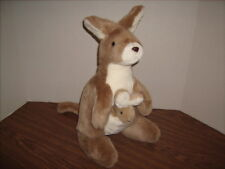 "KANGAROO Plush with JOEY 16"" Pier 1 Imports NWOT"