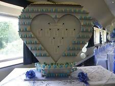 Sweet Heart Center piece Weddings Birthdays Christenings Engagements Party Hire