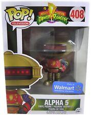 Funko Pop 408 Television Mighty Morphin Power Rangers Alpha 5 Walmart
