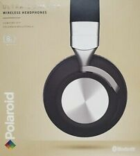 Polaroid Wireless Headphones Ultra Comfort Black Foldable Bluetooth New In Box