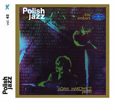 CD ADAM MAKOWICZ piano Live Embers  / Polish Jazz vol. 43 / remastered 2016
