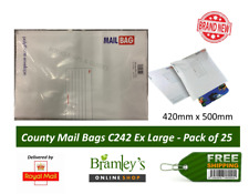 County Mail Bags 25's Extra Large C247 420x500mm