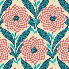 Linen Zebra Bloom Cotton Fabric - Amy Butler Eternal Sunshine - Full Yard