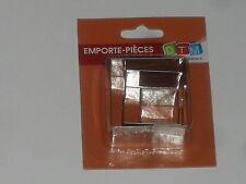 Mtd 3 Mini Emporte-pièces en Acier Inoxydable Carrés