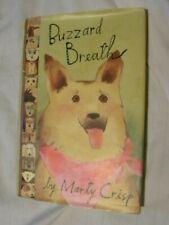 Buzzard Breath Book Marty Crisp 1995 Hardcover German Shepherd Dogs Ages 8-12