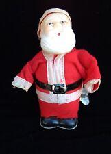 Santa Wind-up Toy Vintage Christmas Display / Parts / Repair VIDEO: WATCH SANTA