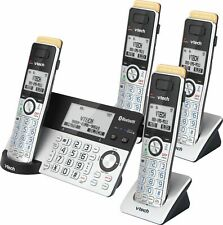 VTech - 4 Handset Connect to Cell Answering System with Super Long Range - Gr...
