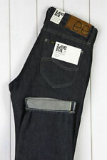 Cotton Lee Indigo, Dark wash Jeans for Men