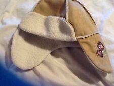 Taglia 3-6 anni Beige Scamosciati Stile Cappello
