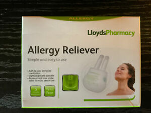 LloydsPharmacy Allergy Reliever Red Light Therapy 3 Minute Treatment New Sealed