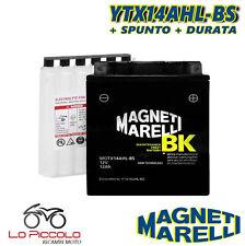 BATTERIA MAGNETI MARELLI YTX14AHL-BS SIGILLATA HONDA CB F Bol D'or  1100 1983
