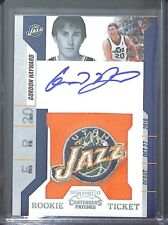 2011 Playoff Contenders Basketball Patch Autograph #109 Gordon Hayward