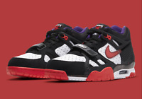 Nike Air Trainer 3 Shoes Dracula Halloween Black Red White DC1501-001 Men's NEW