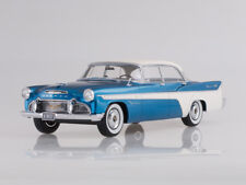 Scale model 1:18 Desoto Firedome 4-Door Seville, metallic-blue/white, 1956