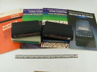 LOT of TI 99/4A Game Cartridge and Manuals, Math Spelling Learning