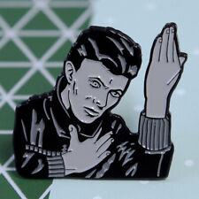 David Bowie 'HEROES' Enamel Pin Badge
