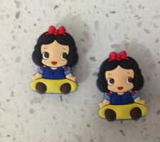 Snow White Baby Princess Shoe Bracelet Wristband Charm Set of 2