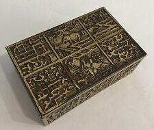 Repousse Art Deco Erhard & Söhne Schachtel Brass Box Casket Eugen Schwemmle 30er