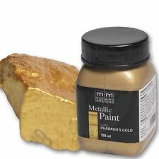 Modern Masters Metallic Paint Pharaos Gold 100ml Metallfarbe Metalleffekt SALE%