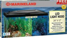 Marineland LED LIGHT HOOD 24 by 12-Inch for AQUARIUM FREE 2 DAY SHIPPING
