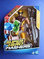 Figurine MARVEL - SUPER HEROS MASHERS - Wolverine - Serval - Hasbro - Env. 16 cm