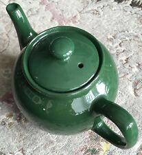 """Vintage anglais traditionnel """"marron BETTY"""" Type vert en porcelaine théière"""