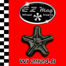 WI 2924-B Slotted 5-Spoke Euro Style EZ Mag Wheel Inserts Fits Strombecker Cars