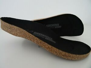 BIRKENSTOCK REPLACEMENT FOOTBED 37/L 6 R New! 1201127 Black