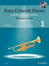 Easy Concert Pieces Vol 1 22 Pieces from 5 Centuries Trumpet and Piano 049045891