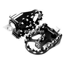 CA Deep Rotating Footpegs Custom Chopper Foot Pegs For Harley Touring Sportster