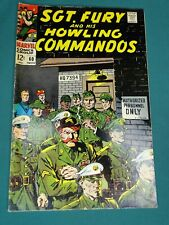 MARVEL COMICS GROUP SGT. FURY AND HIS HOWLING COMMANDOS #60 11/1968 AWESOME COPY
