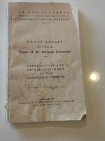Draft Treaty, Statute of the European Community, 1952, Constitutional Committee