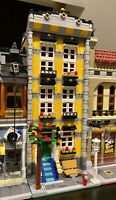 LEGO CUSTOM MODULAR BUILDING TOWN HOUSE fits with 10218 10246 10251 MOC 591