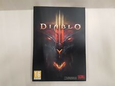 Diablo III 3 -  cover carton box and cd box only no game code included uk