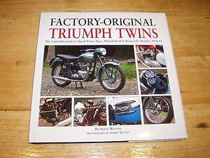 Factory-Original Triumph Twins Originality Guide.1938-1962. Was £40.00