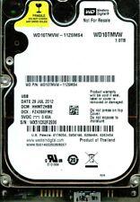 WD10TMVW-11ZSMS4,  DCM:  HHMT2HBB  WESTERN DIGITAL USB3 1TB  WX51  JUL 2012