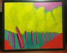 Mary Jane Griggs Australian artist abstract landscape 2002 Avenue II painting