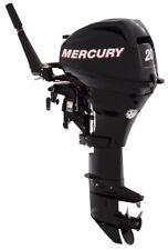 """Mercury 20 HP 4 Stroke Outboard Motor Tiller 20"""" Shaft Boat Engine"""