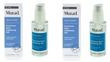 2 x Murad Acne Control Post Acne Spot Lightening Gel 1oz/30ml NEW IN BOX (Blue)