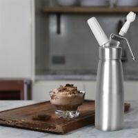 500mL Stainless Steel  Whipped Dessert Cream Dispenser Tool Whipper Foam Maker