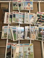 1977 Topps BB -100 Count Different Common/minor Star Lots -EX-EXMT -Read Descrip
