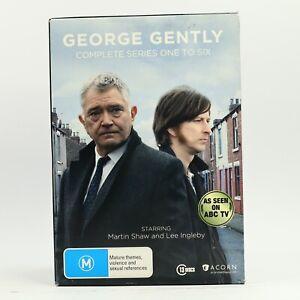 George Gently Series 1-6 Box Set Martin Shaw Lee Ingleby 2013 DVD R4 GC