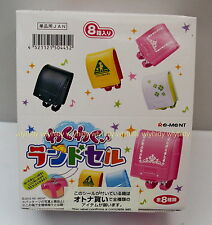 Miniatures Exciting School Bag Keychain Mascot Box Set - Re-ment     , #6ok