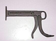 Vintage Cast Iron C & H Shoe Stretcher Cobbler Tool